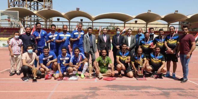 اختتام بطولة الراحل أحمد كرم عمران بخماسي الكرة